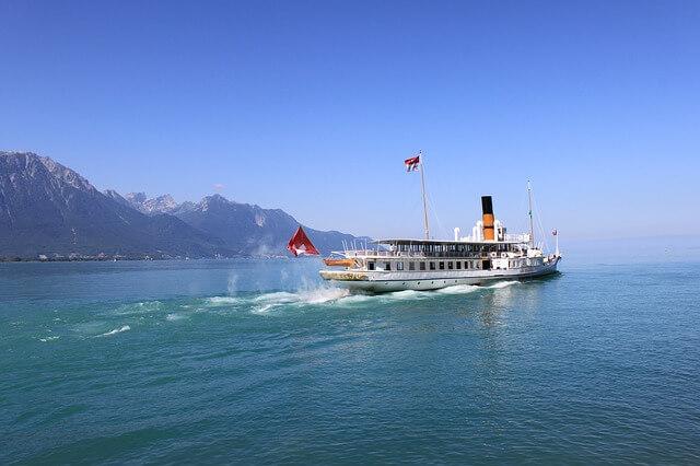 Het meer van Genève